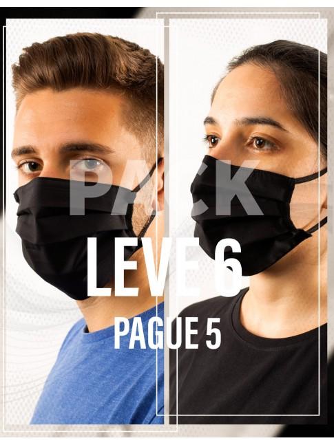 Pack 6 Máscaras preço de 5
